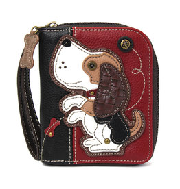 Chala Zip Around Wallet Dog A Gen II