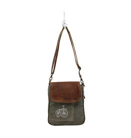 Myra Bags Beige lining & cream beads small shoulder bag with long metal chain and chic. myra bags