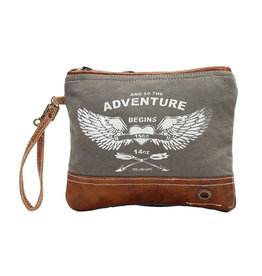 Myra Bags S-1020 Adventure Begins Wristlet