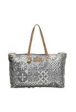 Myra Bags S-1141 Multi Print Weekender Bag
