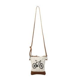 Myra Bags S-1194 X Design Bicycle Small Crossbody Bag