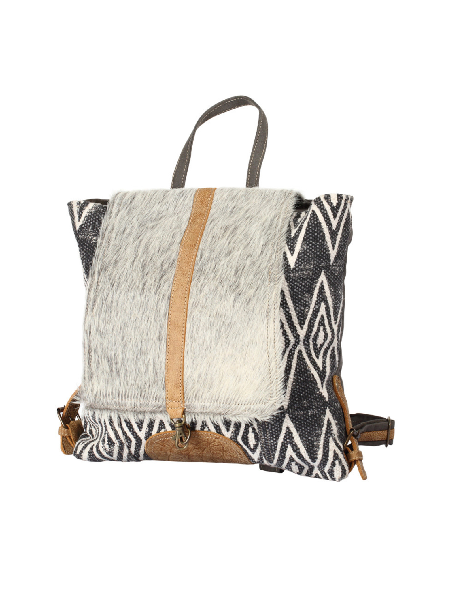 S 1205 Grizzle Backpack Bag An outfit is not complete without a perfect bag to go with it. myra bags s 1205 grizzle backpack bag