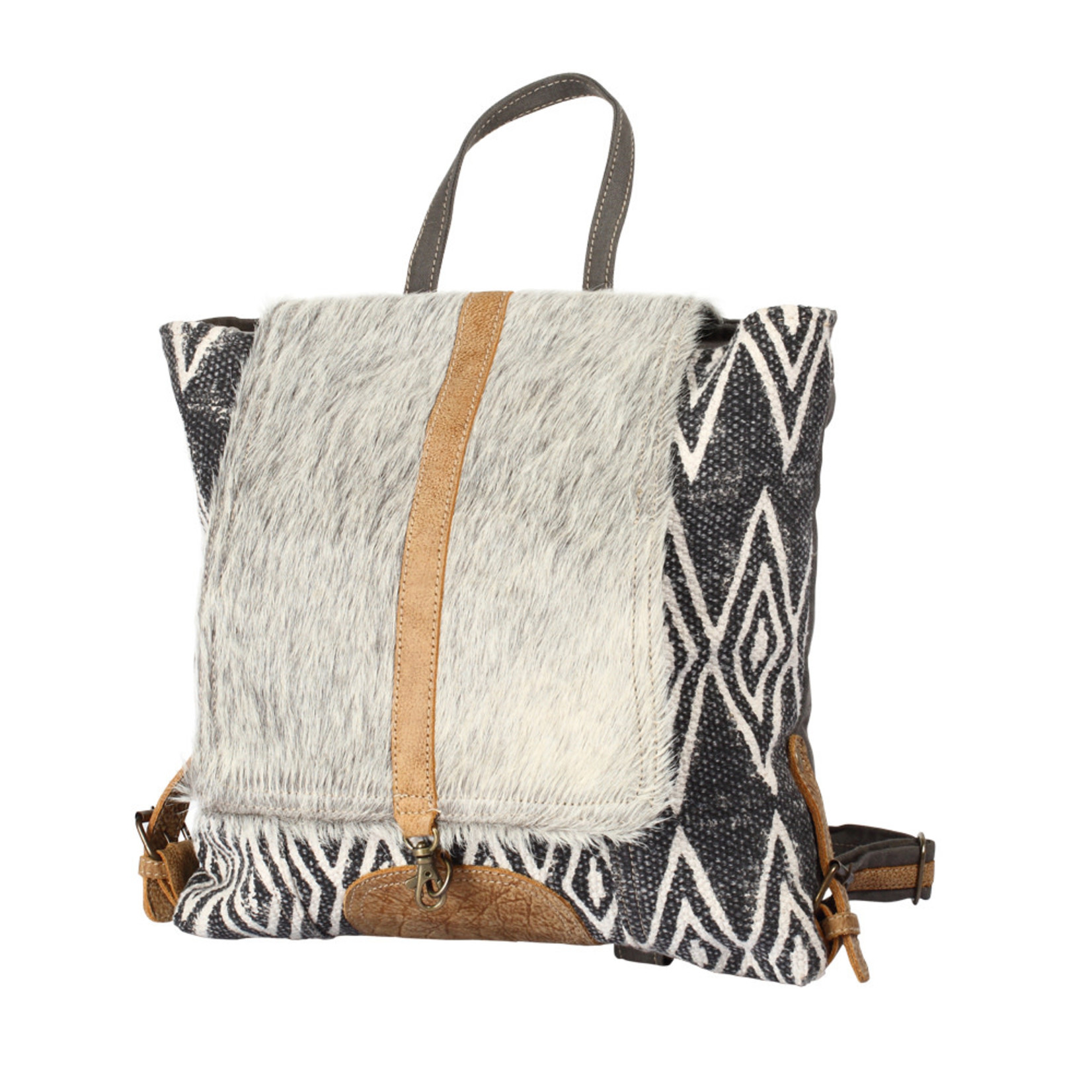 Myra Bags S-1205 Grizzle Backpack Bag