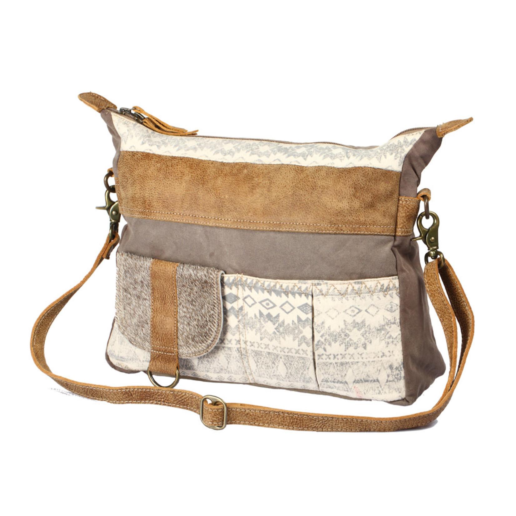 Myra Bags S-1210 Tribe Strip Shoulder Bag