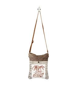 Myra Bags S-1218 San Diego Print Small & Crossbody Bag