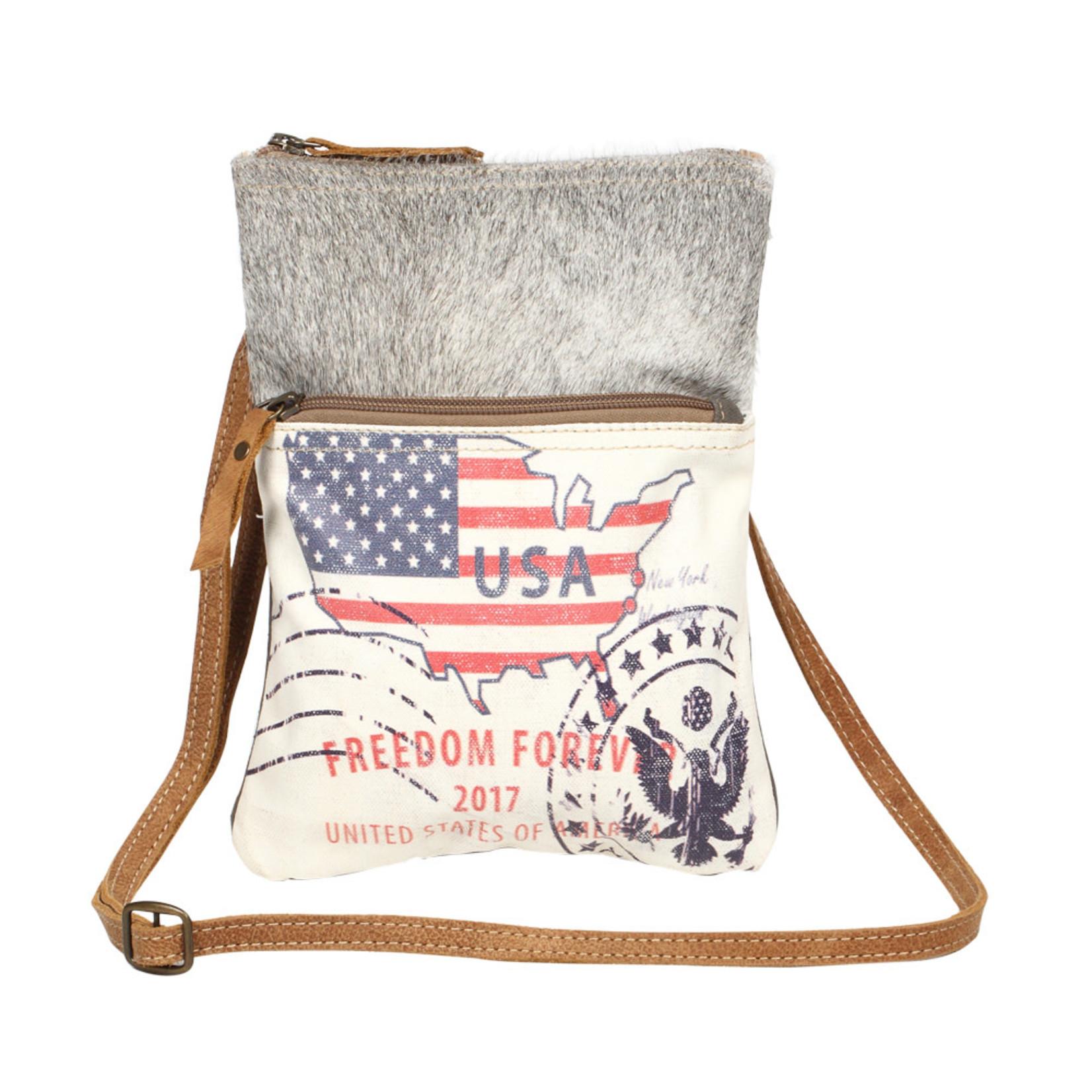 Myra Bags S-1258 Freedom Forever Small & Crossbody Bag