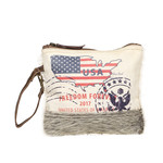 Myra Bags S-1260 New York Verge Pouch Wristlet