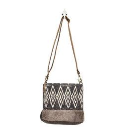 Myra Bags S-1266 Azure Printed Shoulder Bag