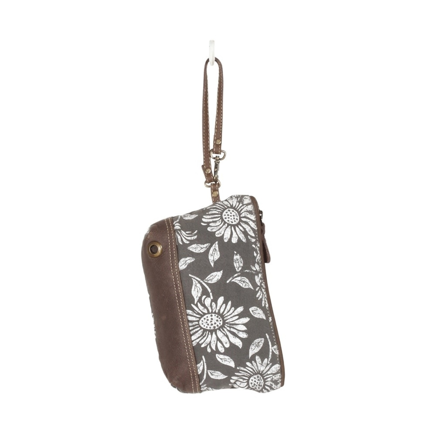 Myra Bags S-1286 Sunflower Wristlet