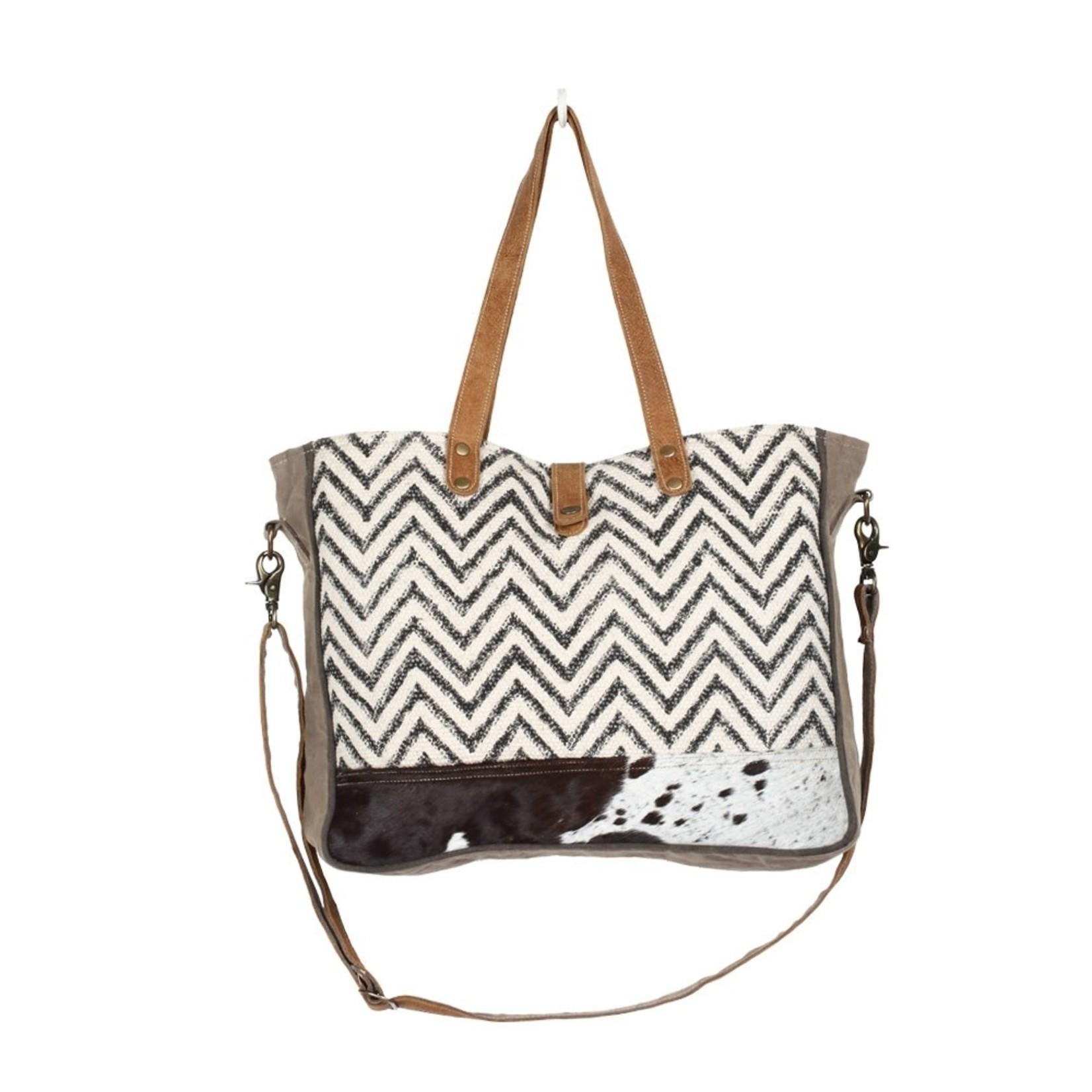Myra Bags S-1296 Amber Messenger Bag