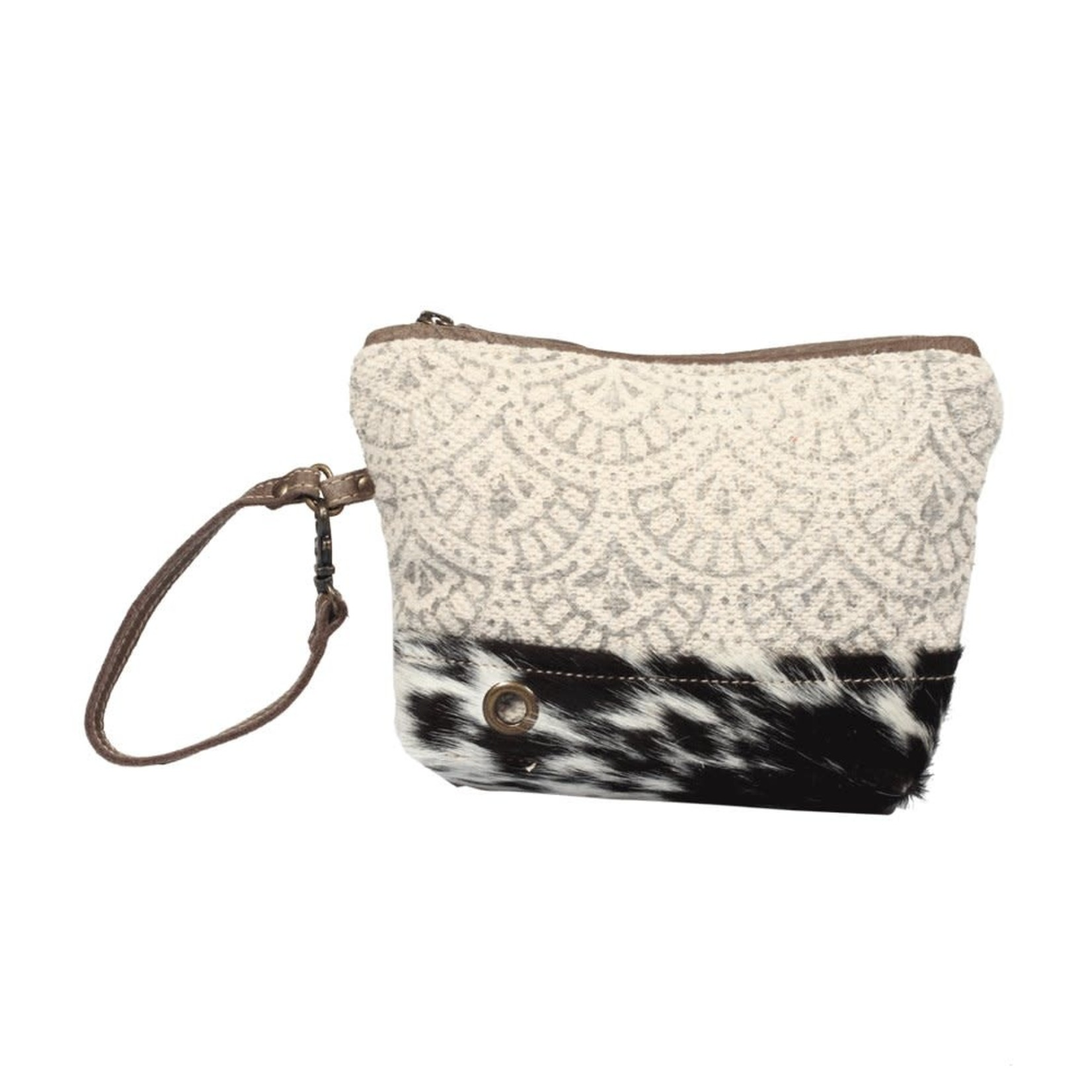 Myra Bags S-1328 Hoop and Hairon Pouch Wristlet