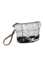 Myra Bags S-1335 Blossom Motif Design Rug Pouch
