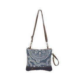 Myra Bags S-1338 Saphhire Small Crossbody Bag / Wristlet