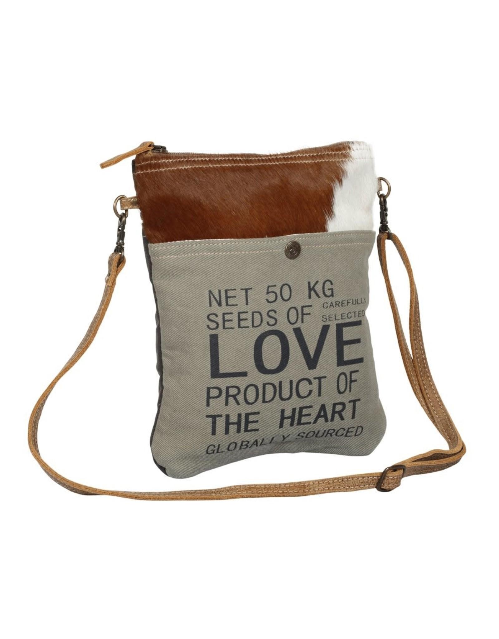 Myra Bags S-1367 Fond Stamp Small & Crossbody Bag
