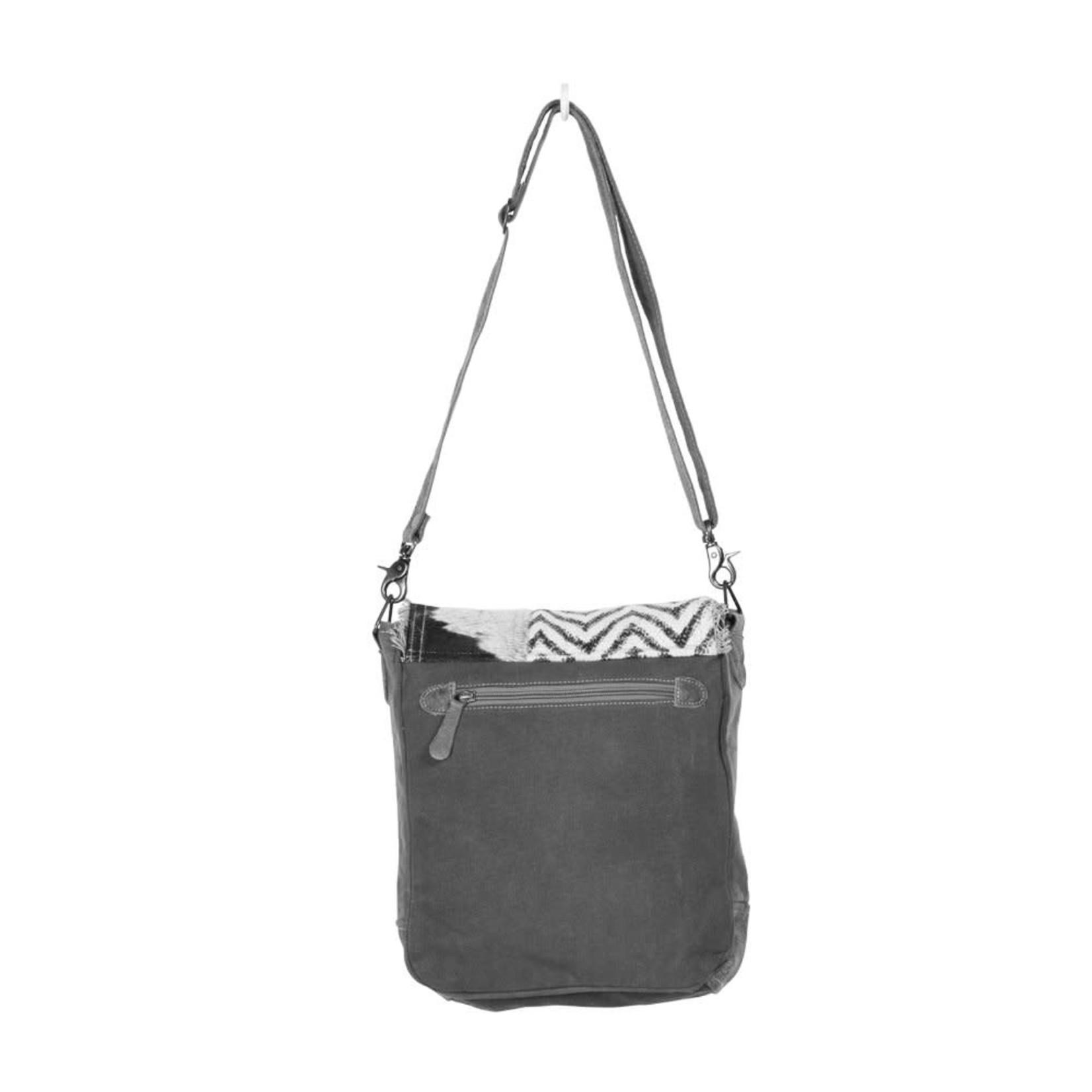Myra Bags S-1370 Rug & Patches Design Shoulder Bag