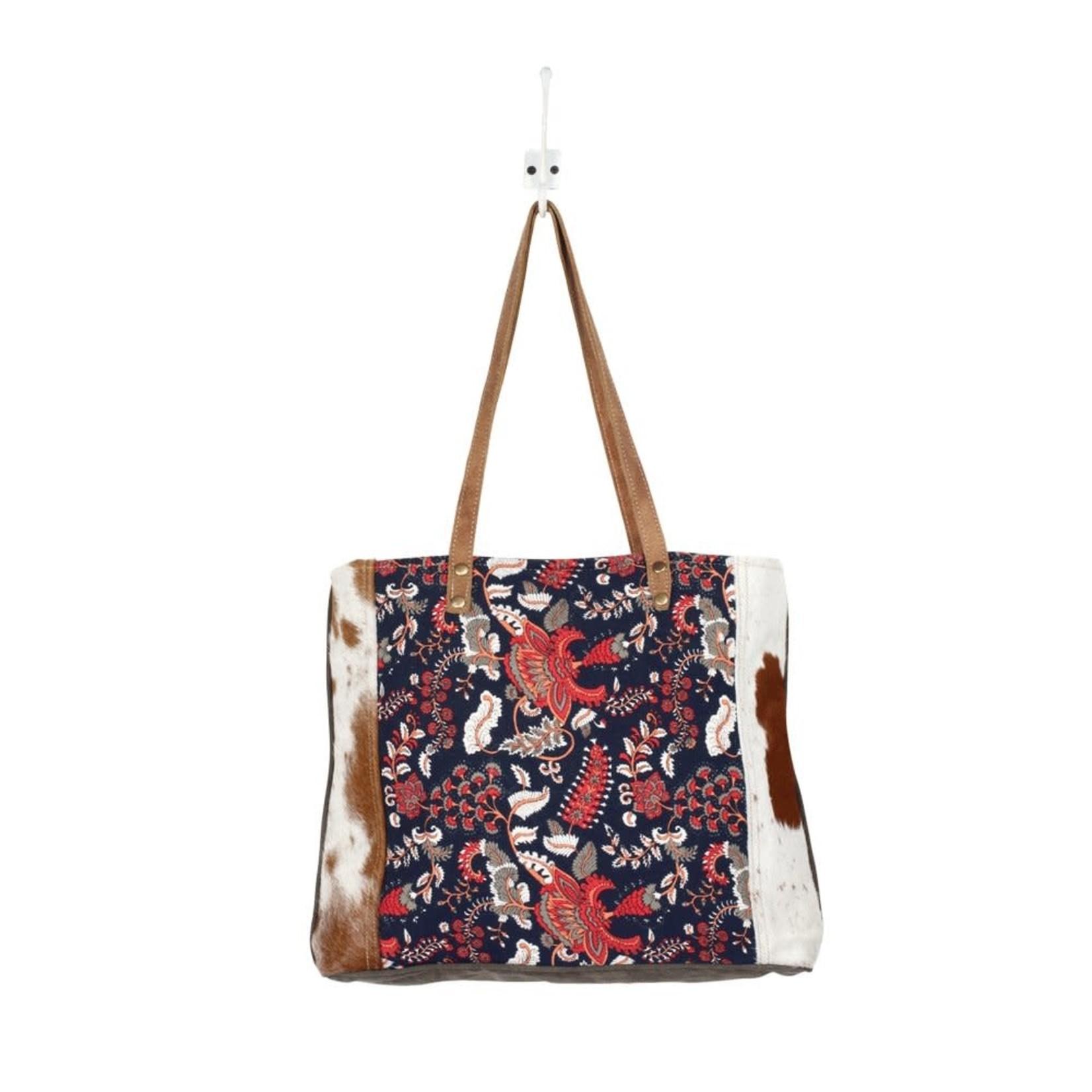 Myra Bags S-1374 Planetoid Design Tote Bag