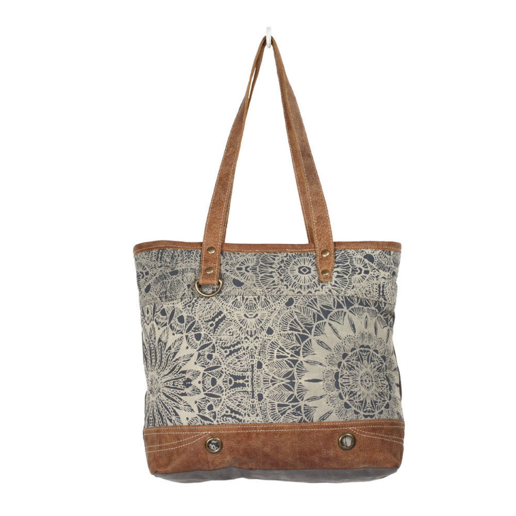 Myra Bags S-1385 Objet D'Art Leather Tote Bag