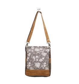 Myra Bags S-1427 Blossom Print Shoulder Bag