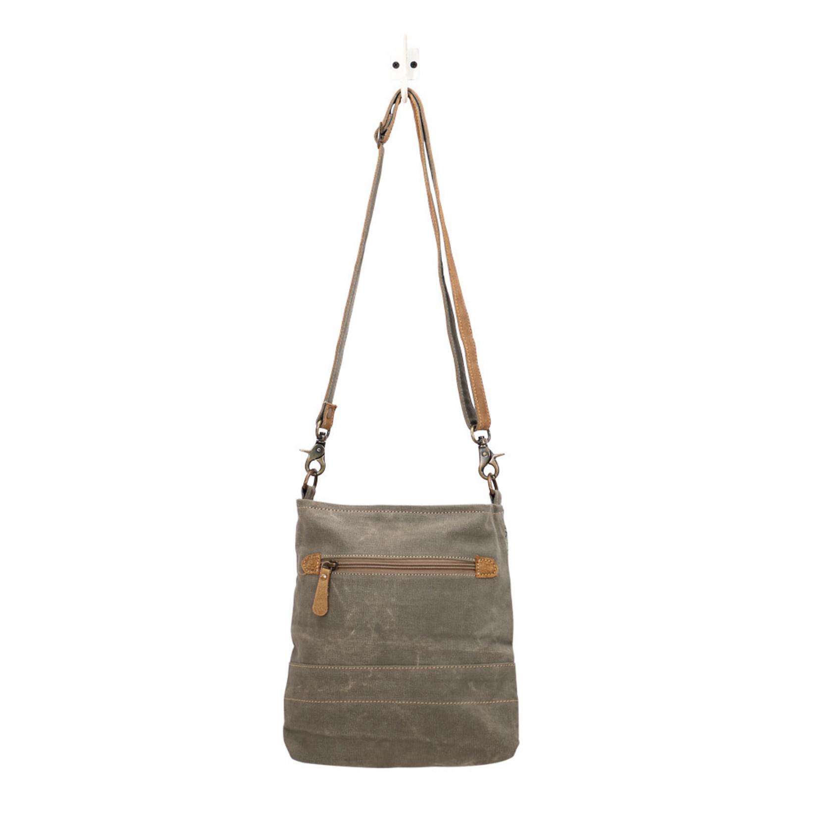 Myra Bags S-1430 Eau De Nil Shoulder Bag