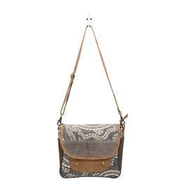 Myra Bags S-1450 Midnight Blue Messenger Bag