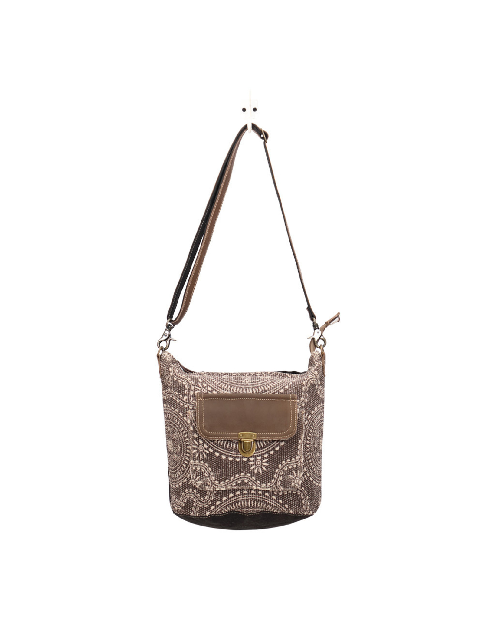 Myra Bags S-1451 Indigo Shoulder Bag