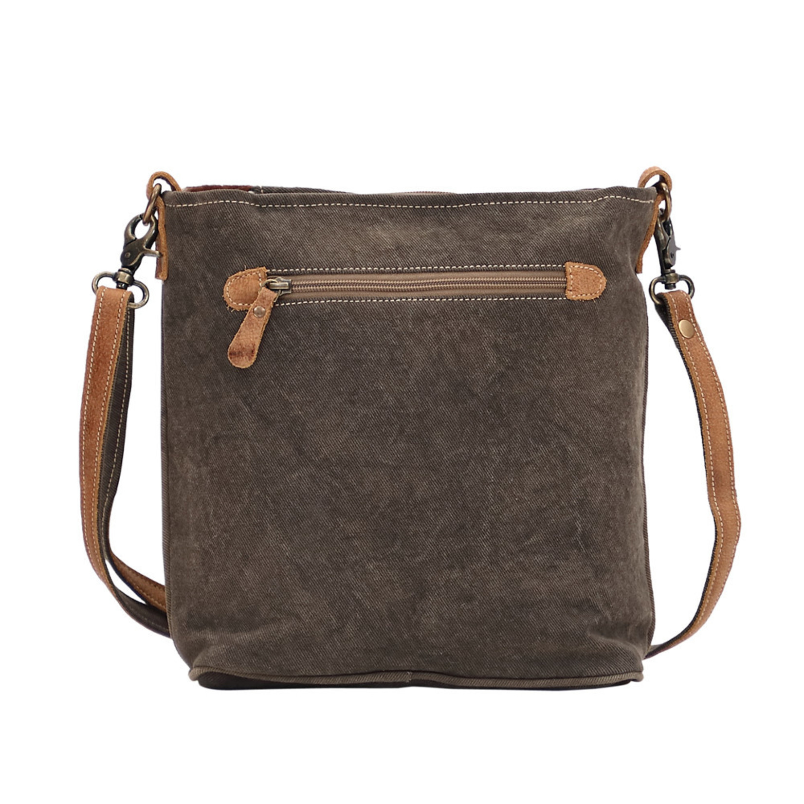 Myra Bags S-1477 Vintage Stamp Shoulder Bag