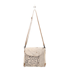 Myra Bags S-1487 Factual Messenger Bag