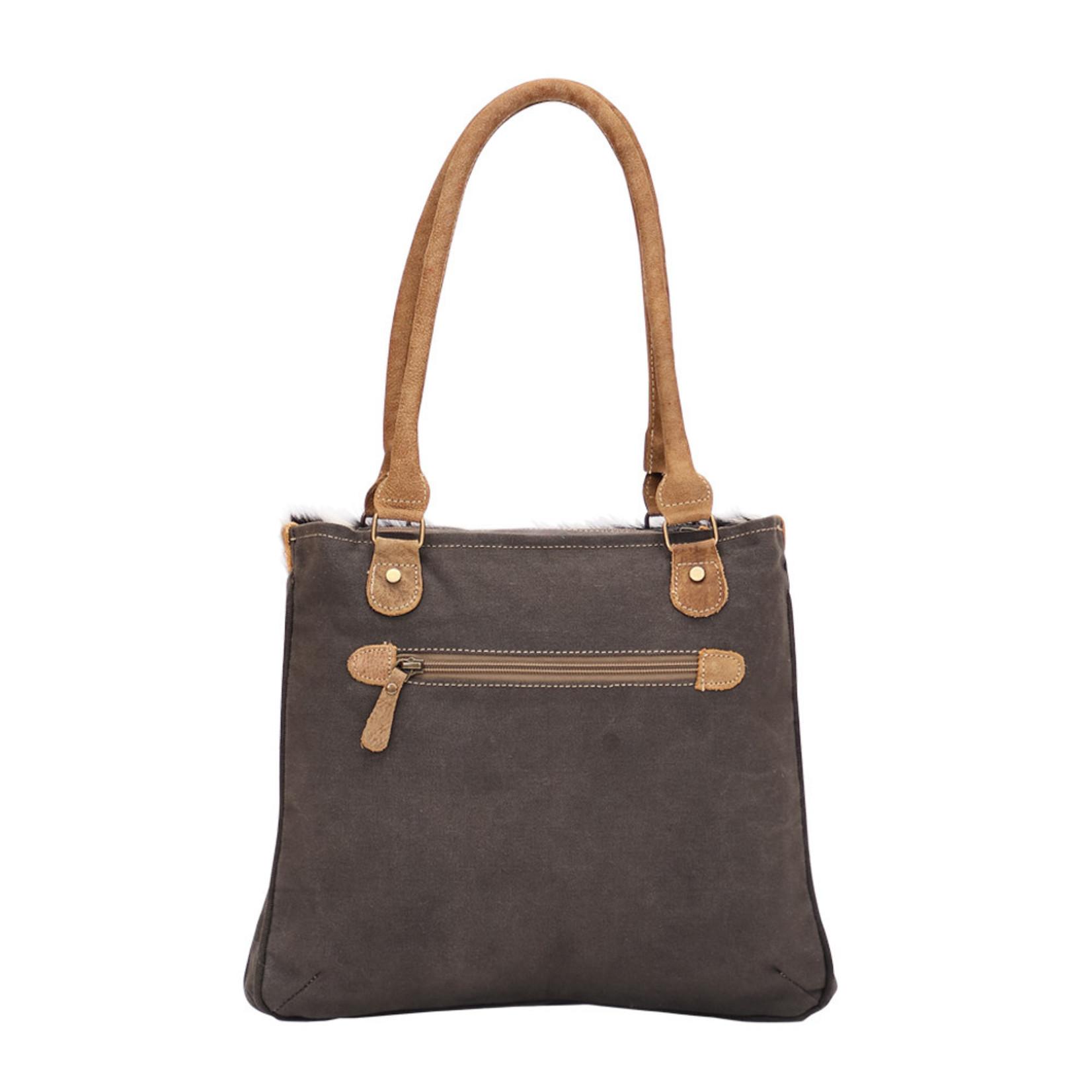 Myra Bags S-1493 Chevron Bleach Small Bag