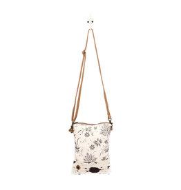 Myra Bags S-1501 Bloom Bleach Small & Crossbody Bag