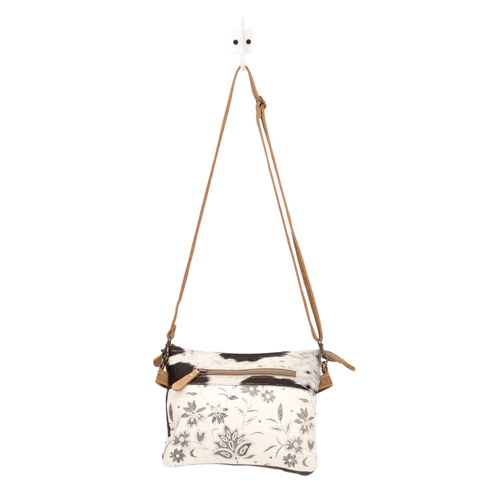 Myra Bags S-1507 Floweret Bleached Small & Crossbody Bag