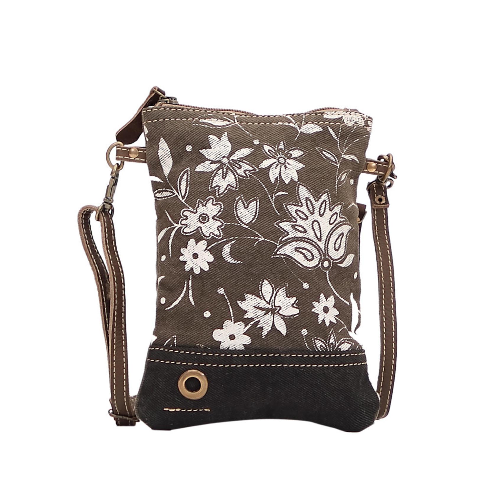 Myra Bags S-1509 Dusky Bleach Small Crossbody Bag