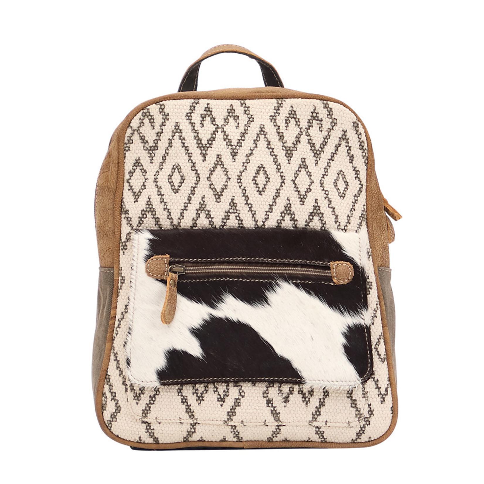 Myra Bags S-1520 Chevron Backpack Bag