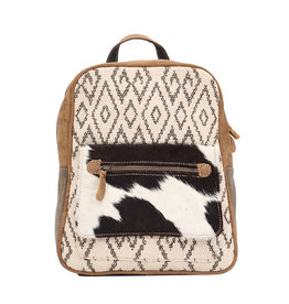 Myra Bags S-1520 Chevron Backpack Bag