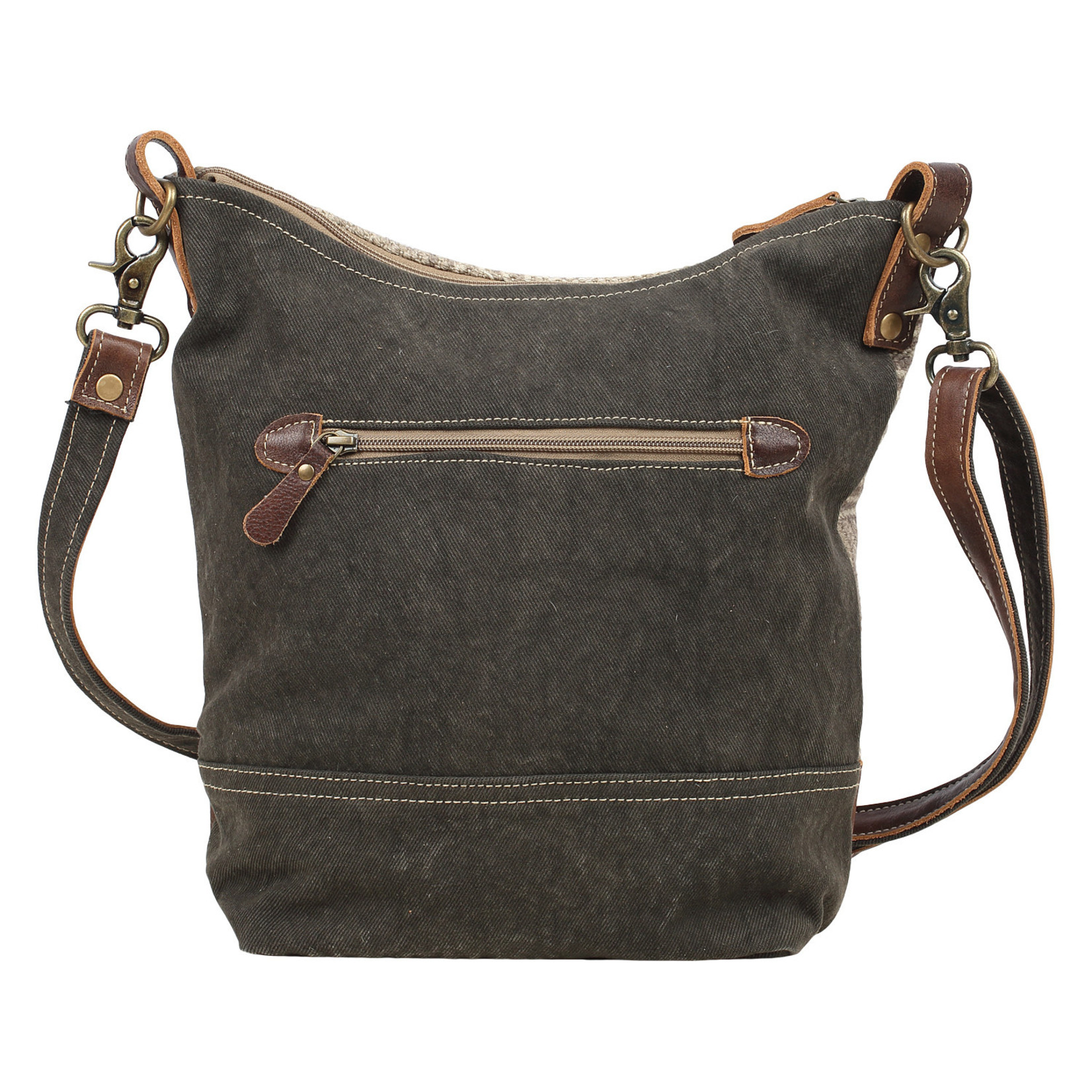 Myra Bags S-1557 Coffee Shoulder Bag
