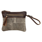 Myra Bags S-1565 Puzzled Pouch Wristlet