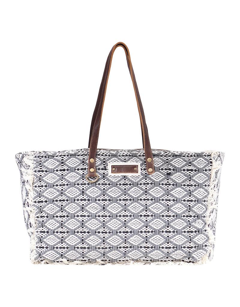 Myra Bags S-1598 Achromic Weekender Bag