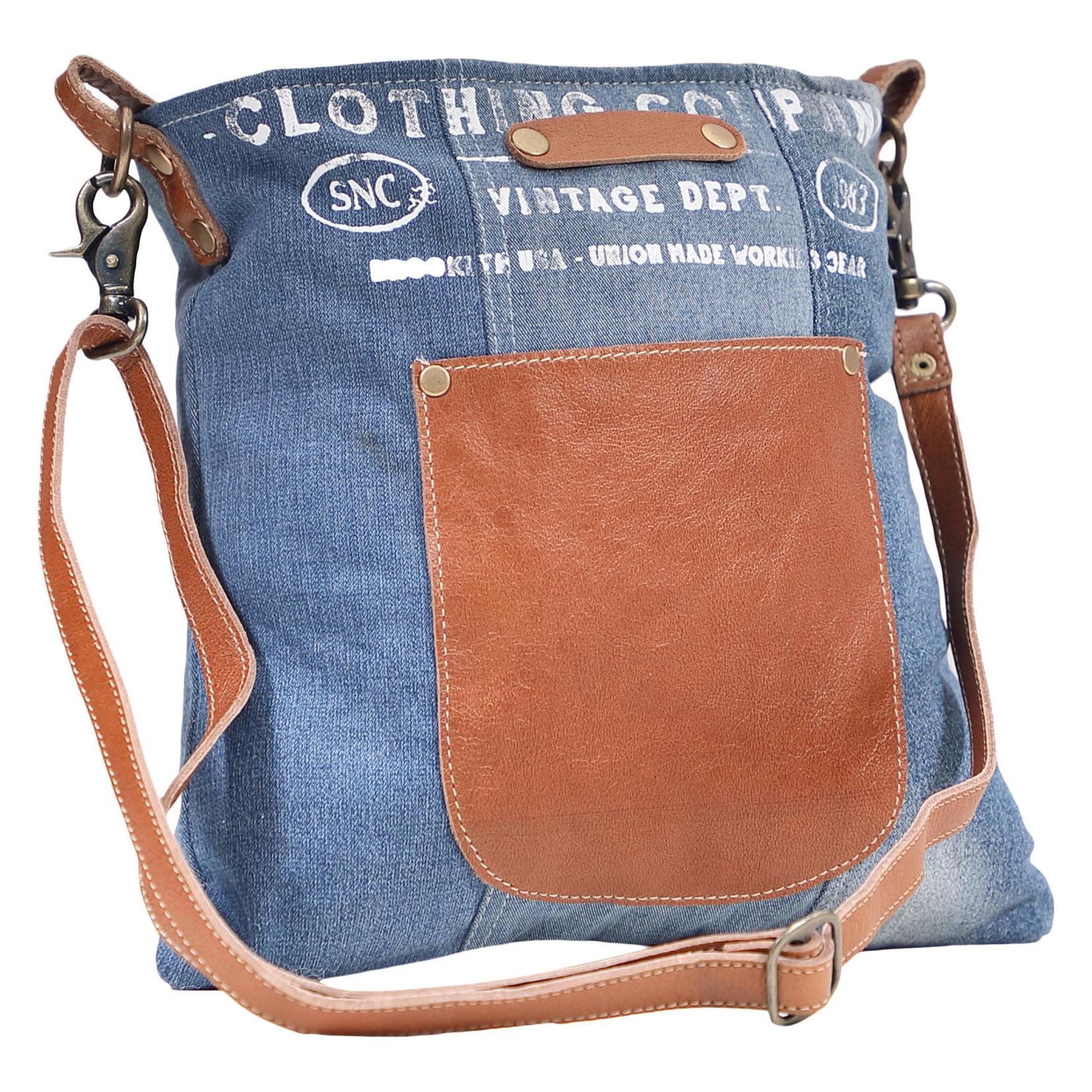 Myra Bags S-1612 Brooklyn Denim Shoulder Bag