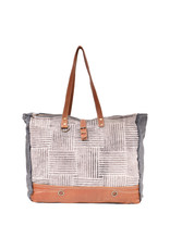 Myra Bags S-1621 Puzzled Weekender Bag