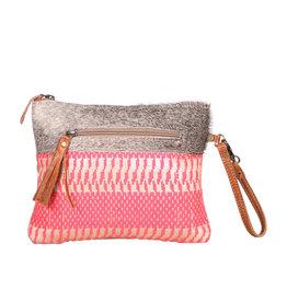 Myra Bags S-1944 Charismatic Pink Pouch / Wristlet