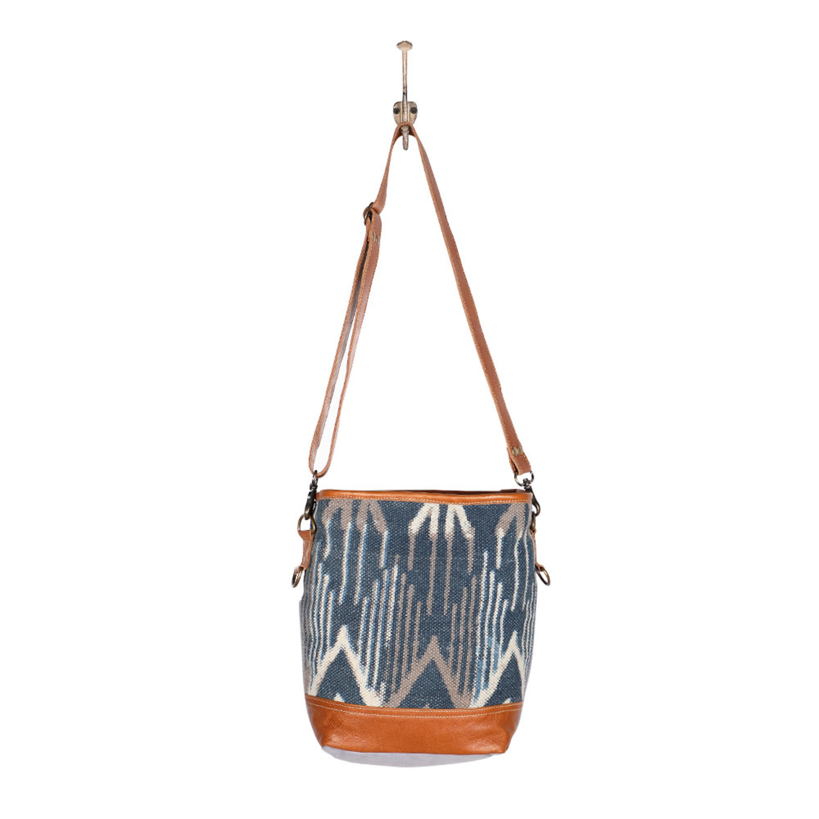Myra Bags S-1954 Blue Mist Shoulder Bag