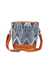 Myra Bags S-1954 Blue Mist Shoulder Bag