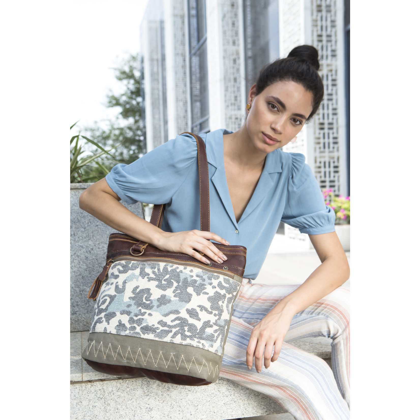 Myra Bags S-1958 Writer Tote Bag