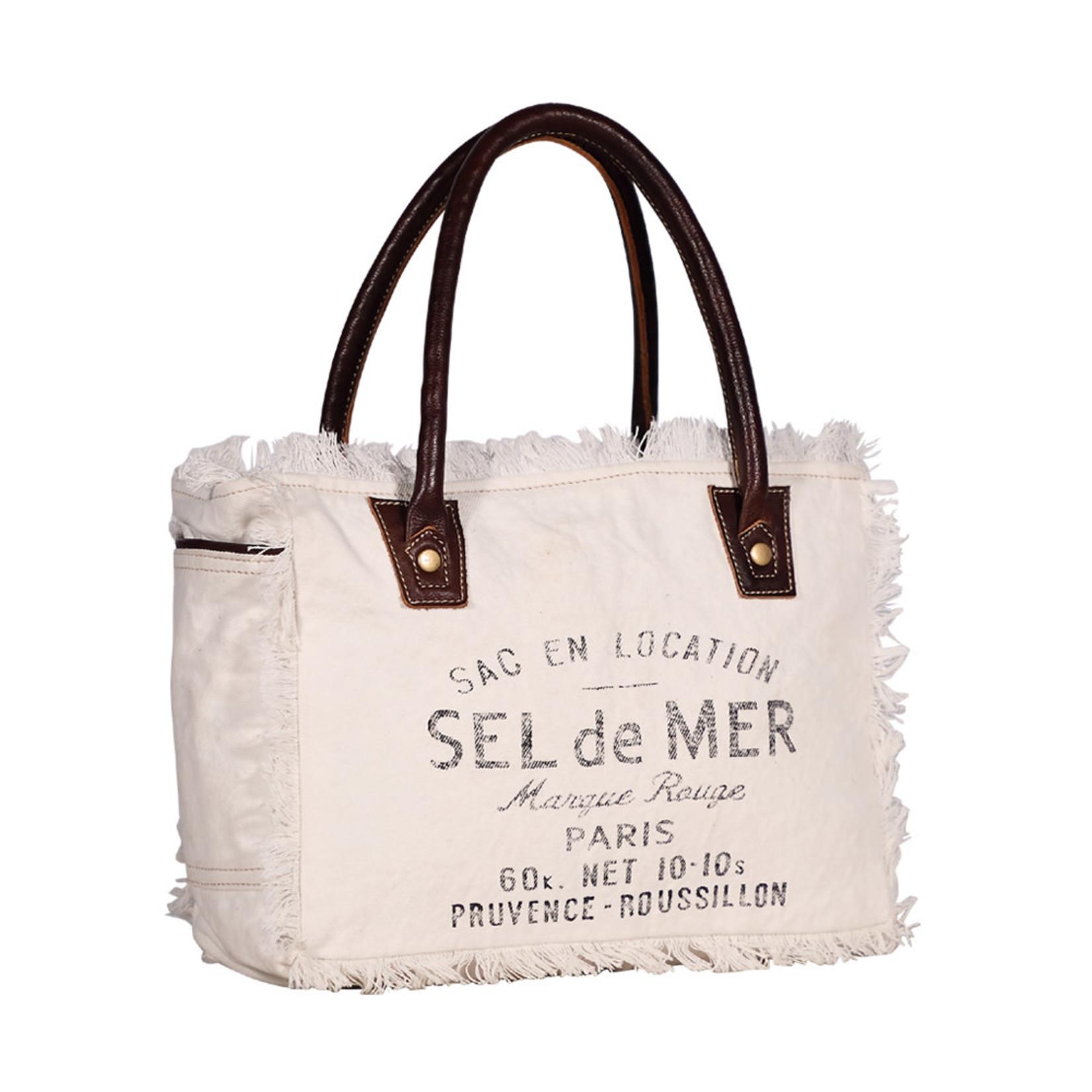 Myra Bags S-1982 Charming White Small Bag