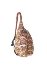 Kavu Mini Rope Bag - Blush Landscape