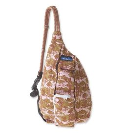 Kavu Mini Rope Bag - Blush Landscape