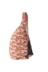 Kavu Rope Bag - Blush Landscape