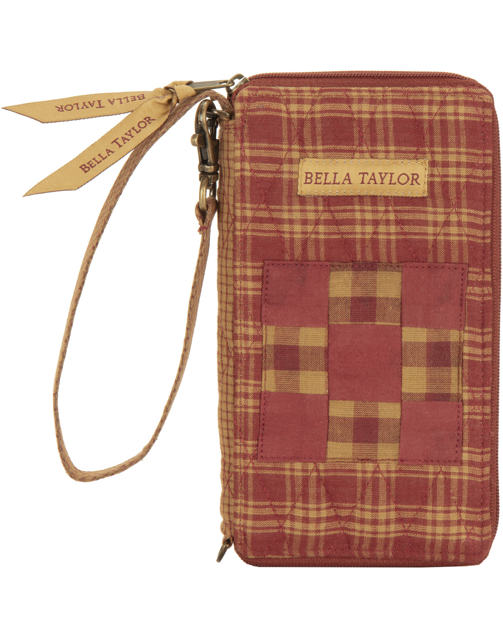 Bella Taylor Ninepatch Star - Modern Wristlet Wallet