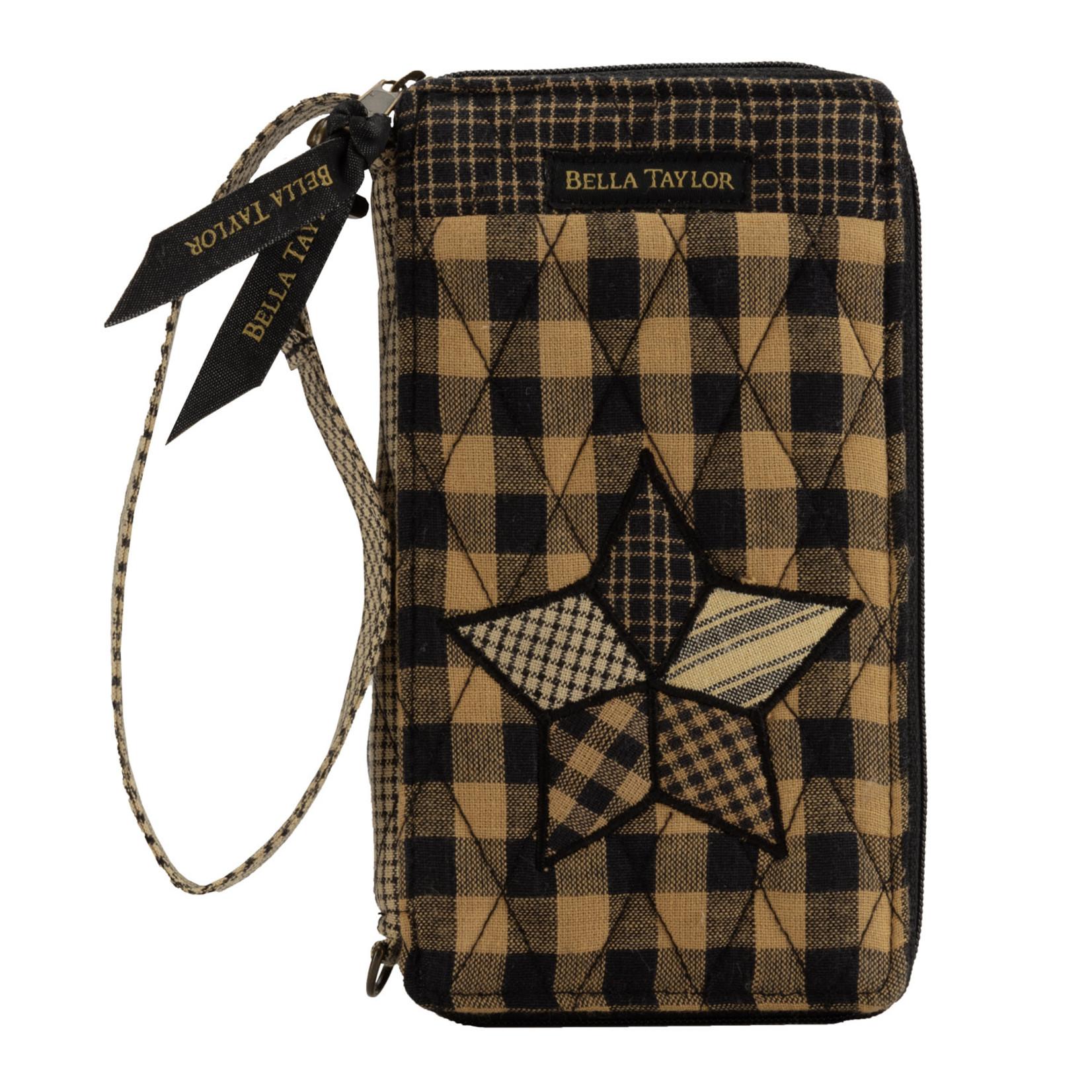 Bella Taylor Farmhouse Star - Modern Wristlet Wallet