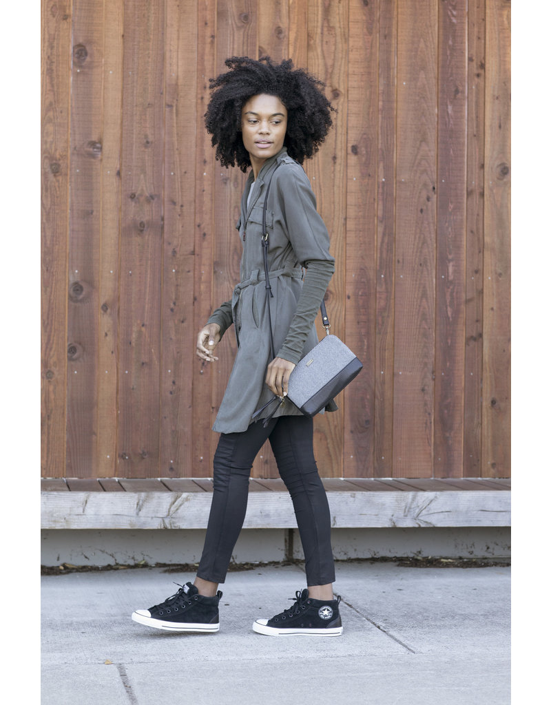 Pistil Hands Off Crossbody Bag - Blackbird