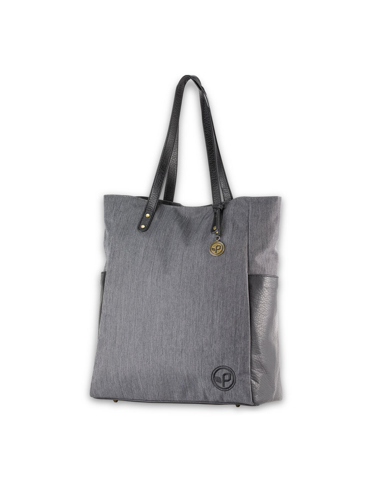 Pistil Just Because Tote Bag - Blackbird